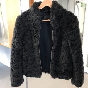 Aritzia | Wilfred Free Fuzzy Cropped jacket XXS